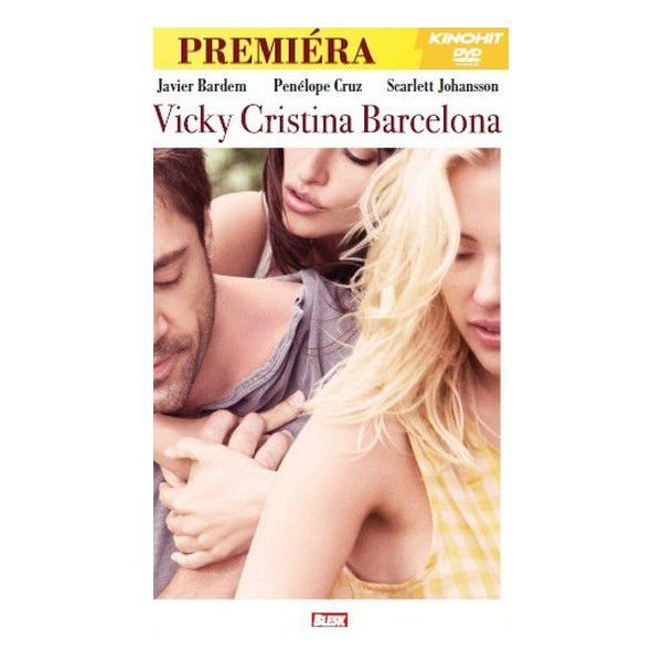 DVD F - Vicky Cristina Barcelona (pošetka)