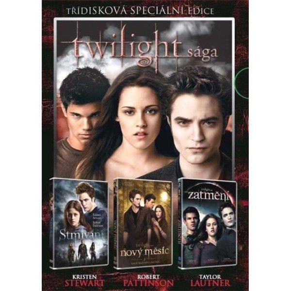 DVD F - Twilight kolekce 3 DVD