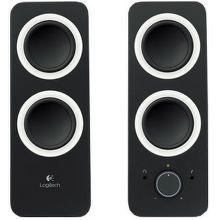 LOGITECH Z200 Speakers, Midnight Black
