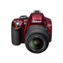 NIKON D3200 RED + 18-55 AF-S DX VR II