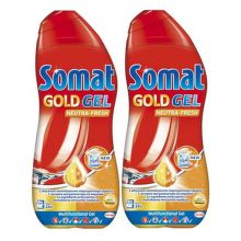 SOMAT Gold Gel Neutra Fresh 2x600ml